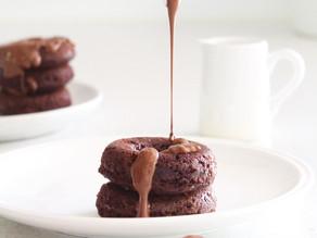 collagen chocolate donuts