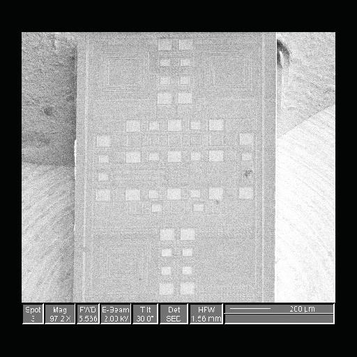90nm Radio Frontend Chip