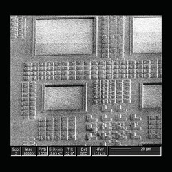 Nanostructures on Silicon IC