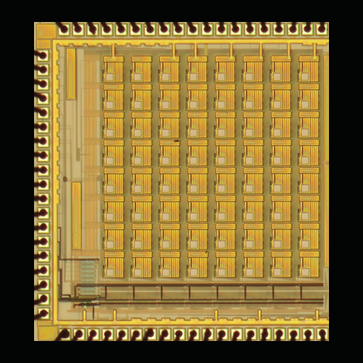 64-Channel FRET-on-a-Chip