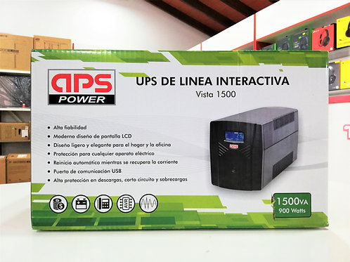 UPS 1500VA 900W APS