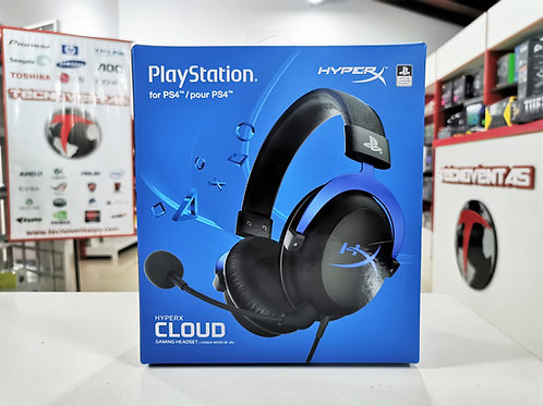 Auricular Gaming HyperX Cloud For PS4
