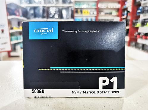 SSD M.2 NVME 500GB Crucial P1