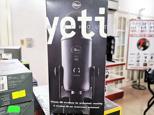 Micrófono Profesional Logitech Blue Yeti Blackout USB
