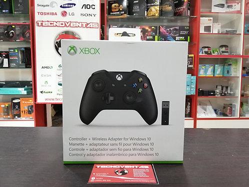 Control Xbox One con adaptador