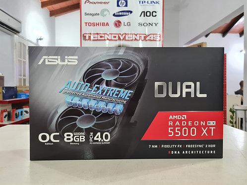 Tarjeta de video 8GB RX 5500 XT ASUS AUTO-EXTREME