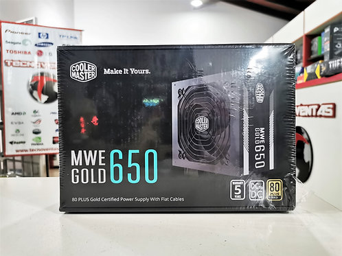 Fuente 650W 80 Plus Gold Cooler Master MWE