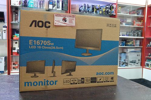 Monitor AOC E1670Sw 16´´