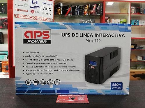UPS 650VA 390W APS Power