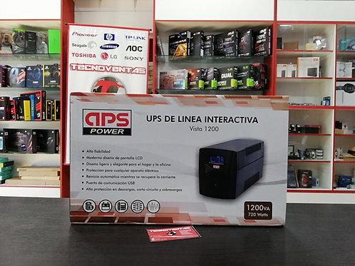 UPS 1200VA 720W APS POWER