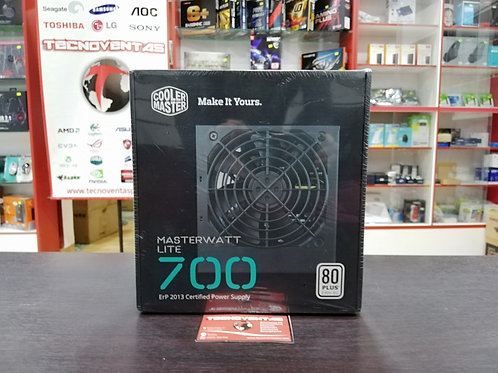 Fuente 700W 80 Plus Cooler Master