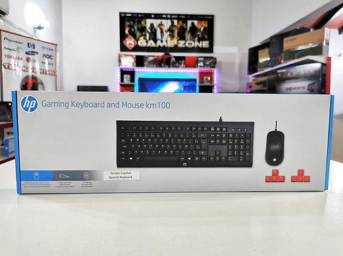 Combo teclado + mouse Hp KM100