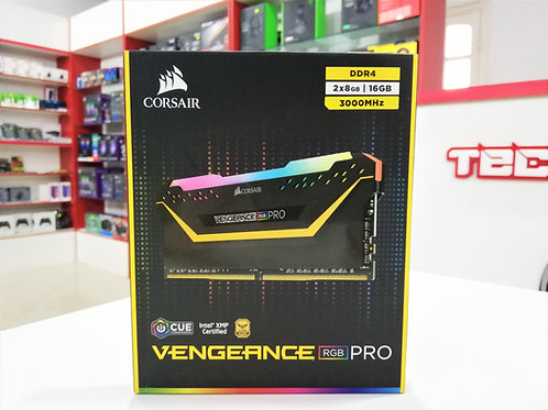 Memoria RAM 16GB (2x8GB) 3000 MHz Corsair Vengeance RGB PRO