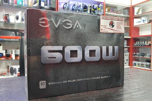 Fuente EVGA 600W 80 PLUS