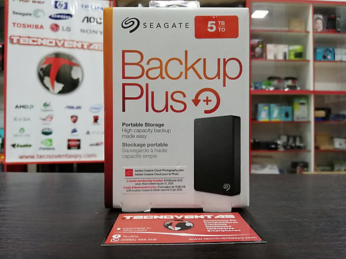 Disco externo Seagate Backup Plus 5TB