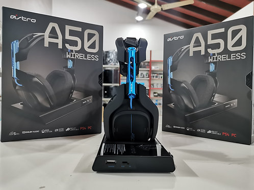 Auricular Gaming Wireless Logitech Astro A50