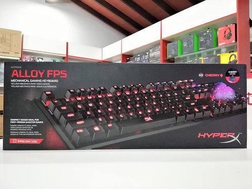 Teclado mecánico HyperX Alloy FPS Cherry red
