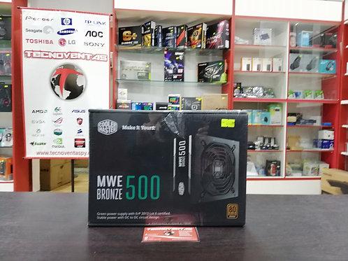 Fuente 500W 80+ Bronce Cooler Master