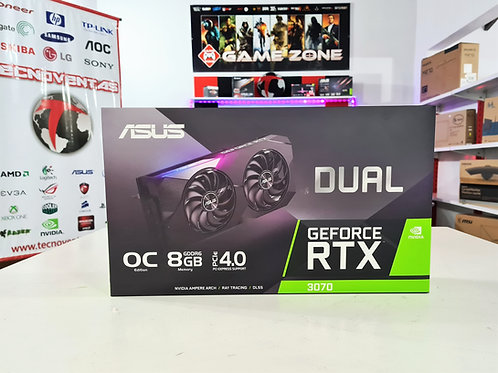 Tarjeta gráfica 8GB RTX 3070 Asus Dual