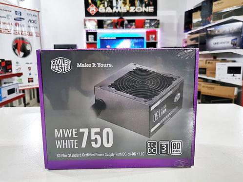 Fuente 750W 80+White Cooler Master