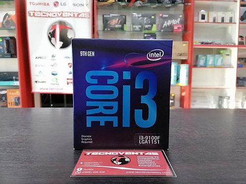 Procesador Intel Core i3-9100F