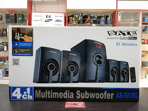 Multimedia Subwoofer Bluetooth SATE 4.1 AS-501BL