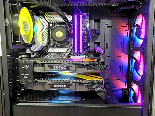 PC Gaming i7-10700K + SLI GTX 1080