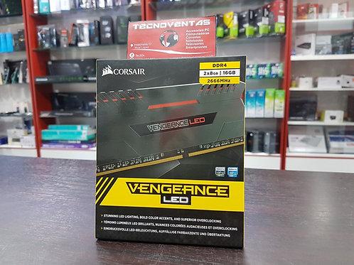Memoria RAM CORSAIR VENGEANCE LED
