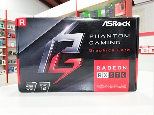 Tarjeta gráfica 4GB RX-570 Asrock Phantom Gaming
