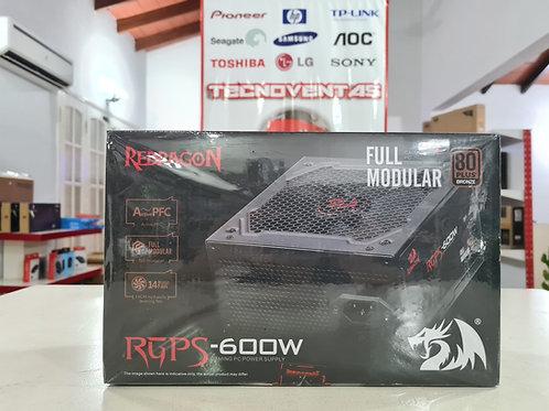 Fuente Redragon 600W 80+ BRONCE FULL MODULAR