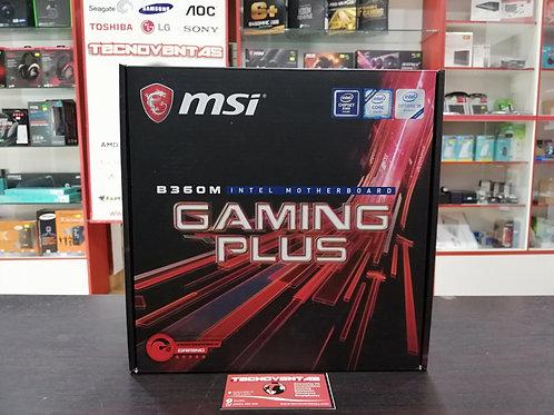 Placa madre MSI B360 Gaming Plus