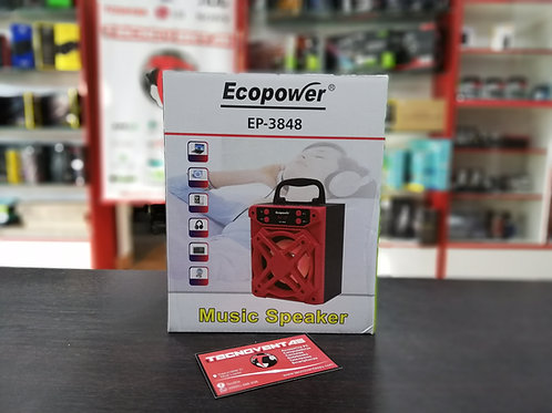 Parlante Bluetooth ECOPOWER EP-3848