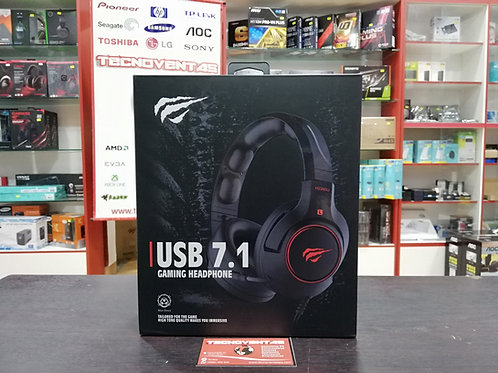 Auricular Gamer USB 7.1 Havit