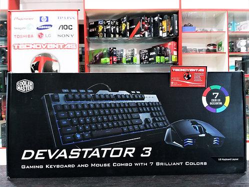 Teclado y mouse Devastator III Cooler Master