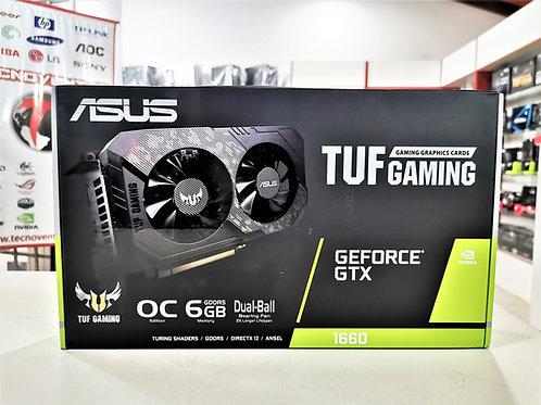 Tarjeta gráfica 6GB GTX 1660  ASUS TUF Gaming