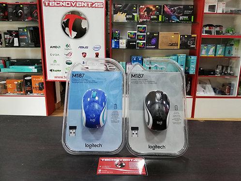 Mini mouse inalámbrico Logitech M187