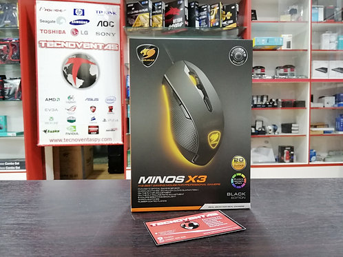 Mouse Gamer Cougar Minos X3