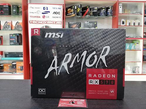 Tarjeta gráfica MSI ARMOR RADEON RX 570 8GB