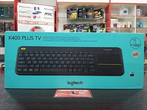 Teclado inalámbrico Logitech K400 PLUS TV
