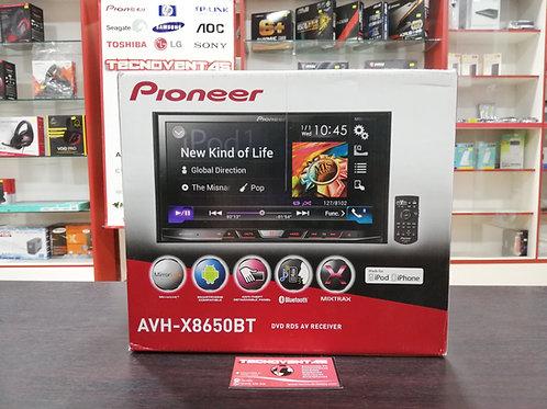 Autoradio Pioneer con bluetooth AVH-X8650BT