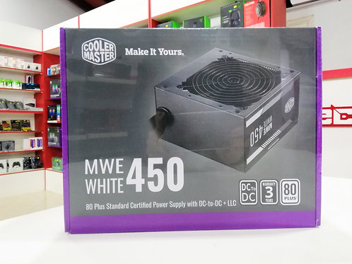Fuente 450W 80+ Cooler Master MWE