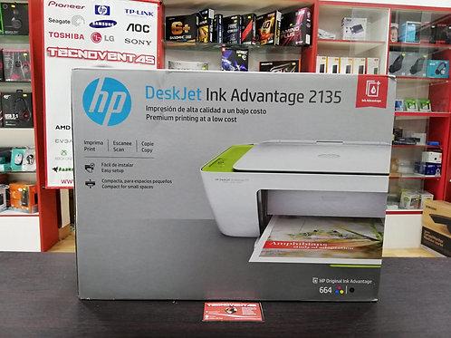 Impresora multifunción HP Deskjet Ink Advantage 2135