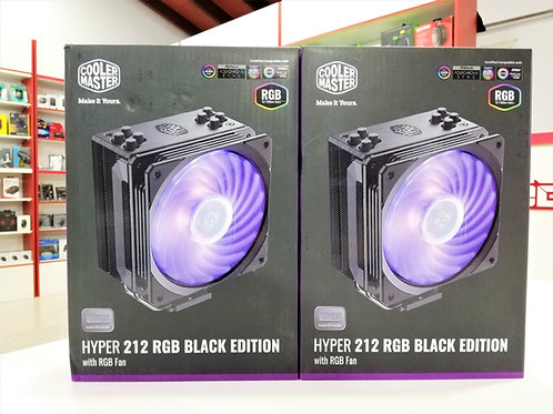 CPU Air Cooler Master Hyper 212 RGB Black Edition