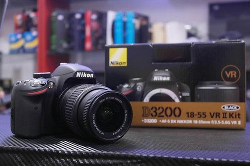 Cámara Nikon D3200 18-55 VR II Kit