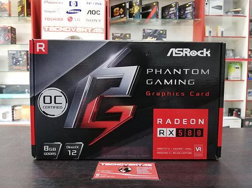 Tarjeta gráfica RX 580 8GB Asrock Phantom Gaming