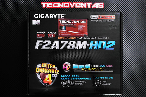 Placa madre GIGABYTE F2A78M-HD2
