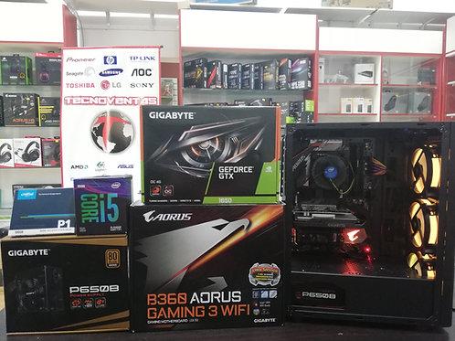 PC de escritorio i5-9400F + GTX 1650