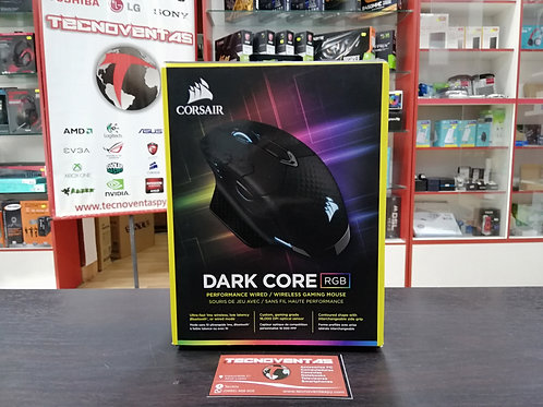 Mouse inalámbrico Corsair Dark Core RGB