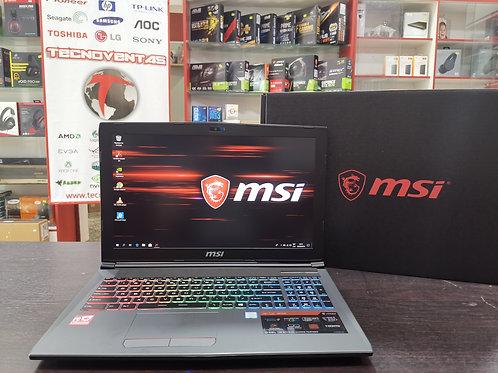 Notebook Gamer MSI GAMING GF62 8RE-058US