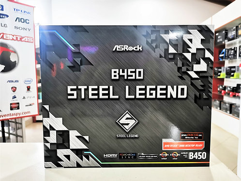 Placa madre Asrock B450 Steel Legend